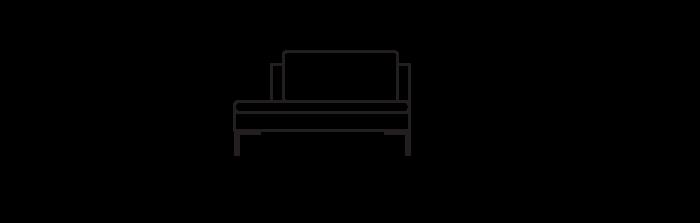 Lyng_120_sofa_module_Open_OpenLeft_yggoglyng