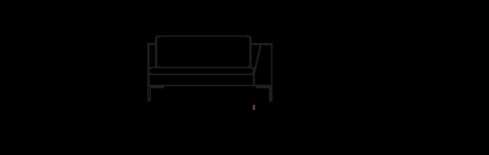 Lyng140_sofa_module_ArmRight_yggoglyng