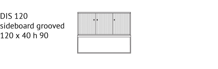 Dis120_sideboard_skjenk_grooved_yggoglyng_